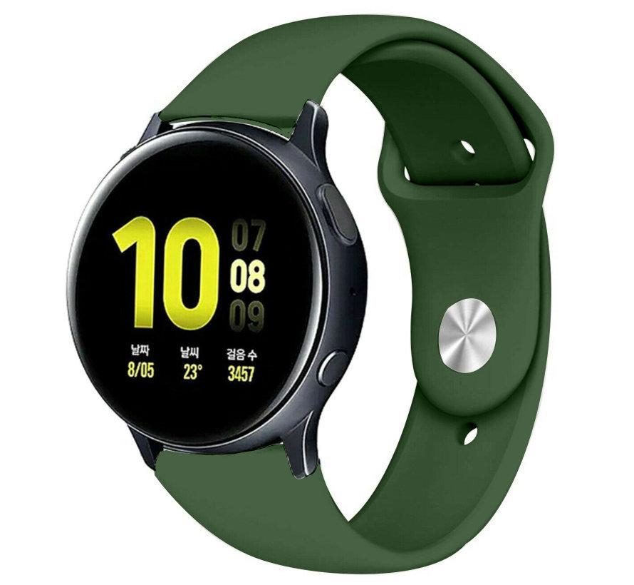 Strap-it® Samsung Galaxy Watch Active sport band (legergroen)