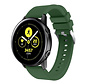Strap-it® Samsung Galaxy Watch Active silicone band (legergroen)