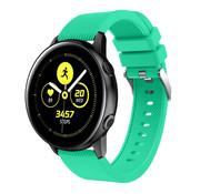 Strap-it® Samsung Galaxy Watch Active silicone band (aqua)