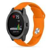 Strap-it® Garmin Vivoactive 3 sport band (oranje)