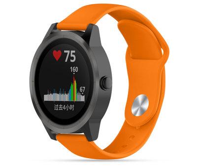 Strap-it® Strap-it® Garmin Vivoactive 3 sport band (oranje)
