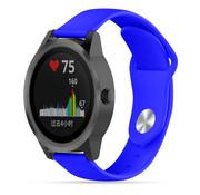 Strap-it® Garmin Vivoactive 3 sport band (blauw)