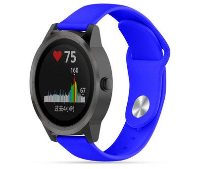 Strap-it® Strap-it® Garmin Vivoactive 3 sport band (blauw)