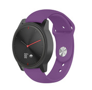 Strap-it® Garmin Vivomove HR sport band (paars)