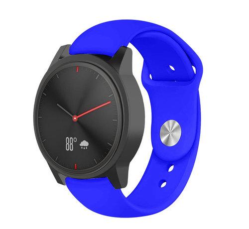 Strap-it® Strap-it® Garmin Vivomove HR sport band (blauw)