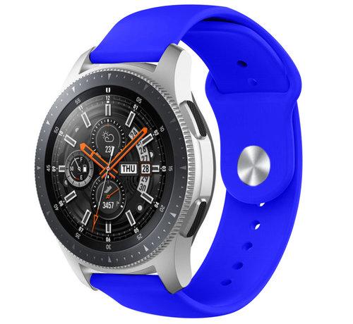 Strap-it® Strap-it® Samsung Galaxy Watch sport band 45mm / 46mm (blauw)