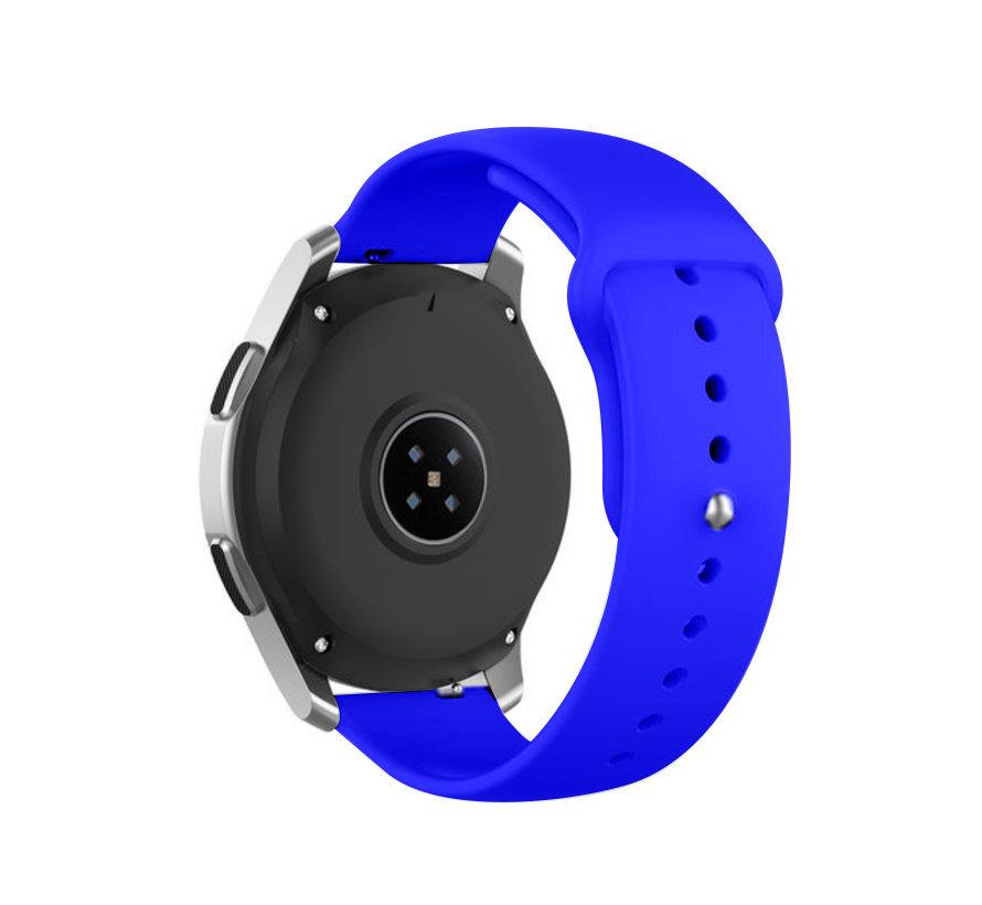 Strap-it® Samsung Galaxy Watch sport band 45mm / 46mm (blauw)