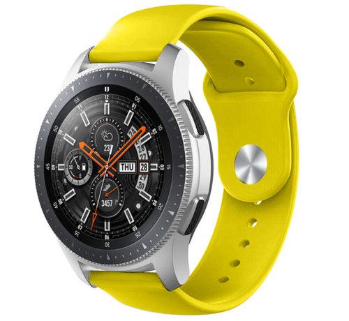 Strap-it® Strap-it® Samsung Galaxy Watch sport band 45mm / 46mm (geel)