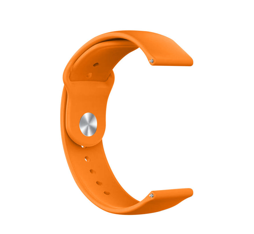 Strap-it® Samsung Galaxy Watch sport band 45mm / 46mm (oranje)