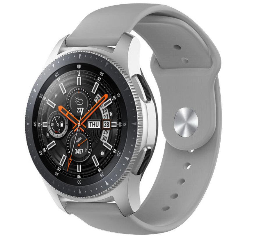 Strap-it® Samsung Galaxy Watch sport band 45mm / 46mm (grijs)
