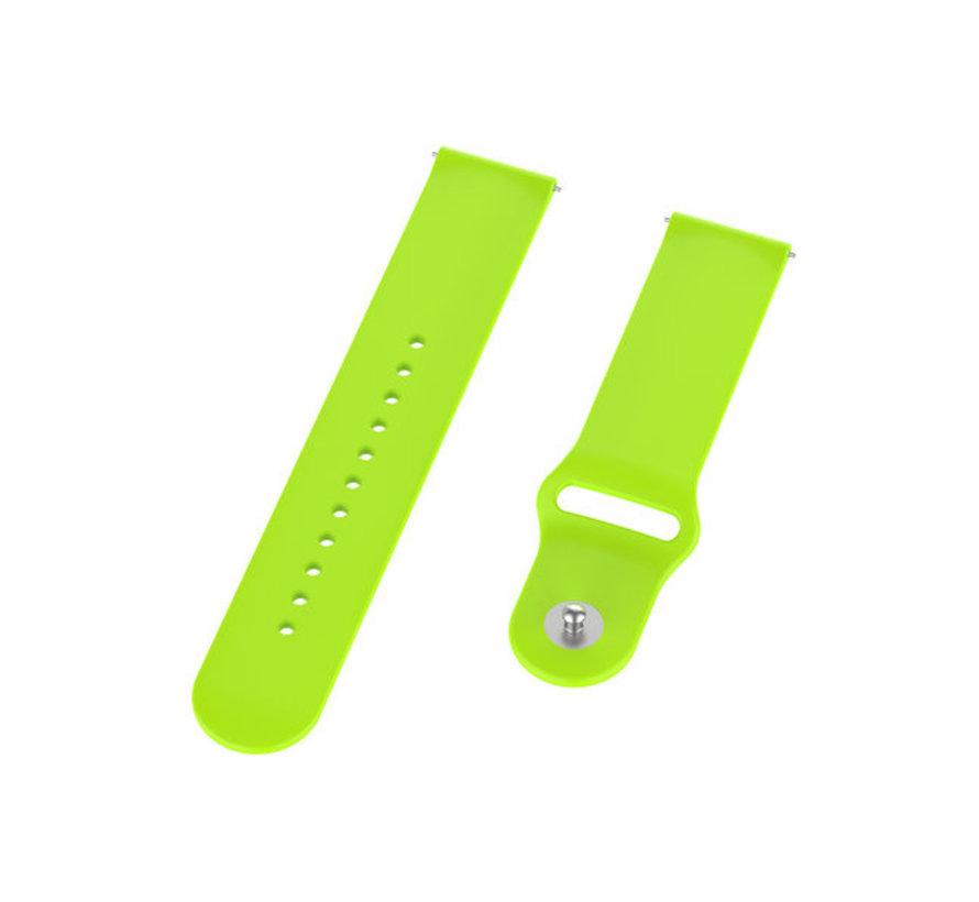 Strap-it® Samsung Galaxy Watch Active sport band (lichtgroen)