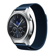 Strap-it® Samsung Gear S3 Milanese band (blauw)