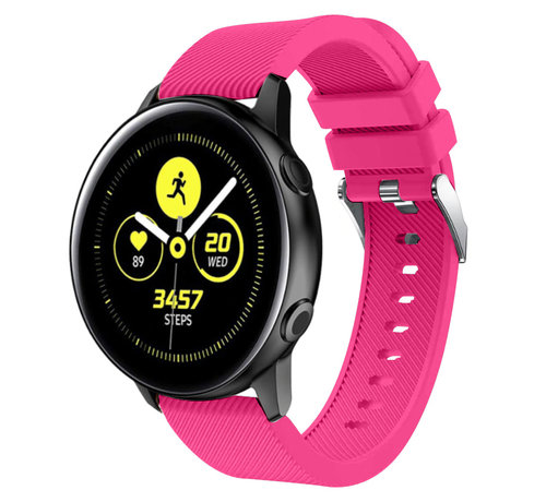 Strap-it® Strap-it® Samsung Galaxy Watch Active silicone band (knalroze)