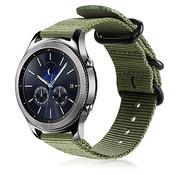 Strap-it® Samsung Gear S3 nylon gesp band (groen)