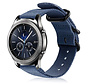 Strap-it® Samsung Gear S3 nylon gesp band (blauw)