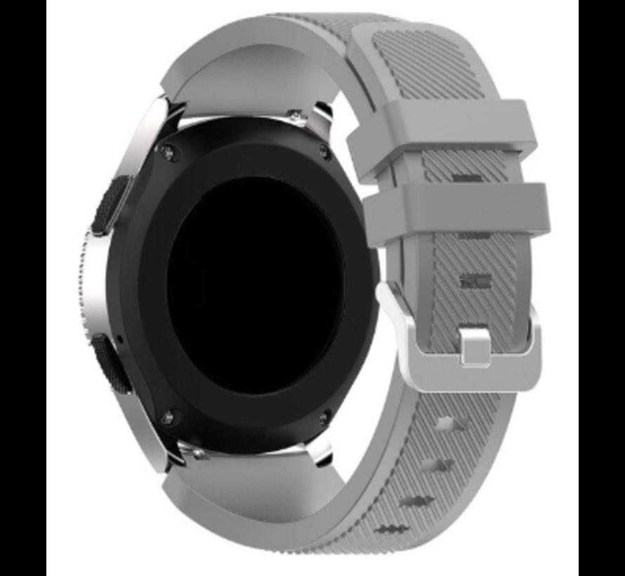 Strap-it® Samsung Galaxy Watch 3 45mm siliconen bandje (grijs)