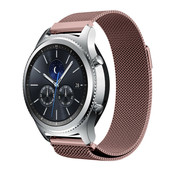 Strap-it® Samsung Gear S3 Milanese band (roze)