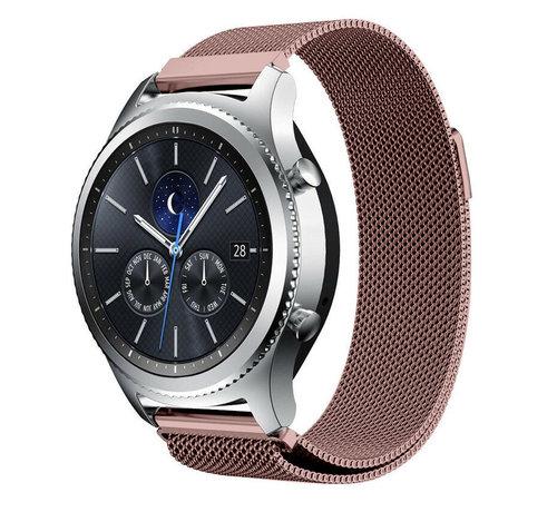Strap-it® Strap-it® Samsung Gear S3 Milanese band (roze)