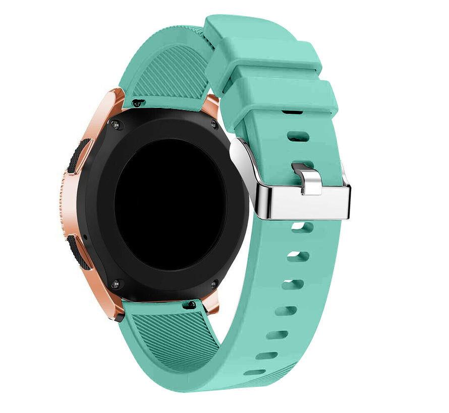 Strap-it® Garmin Vivoactive 4 silicone band - 45mm - aqua