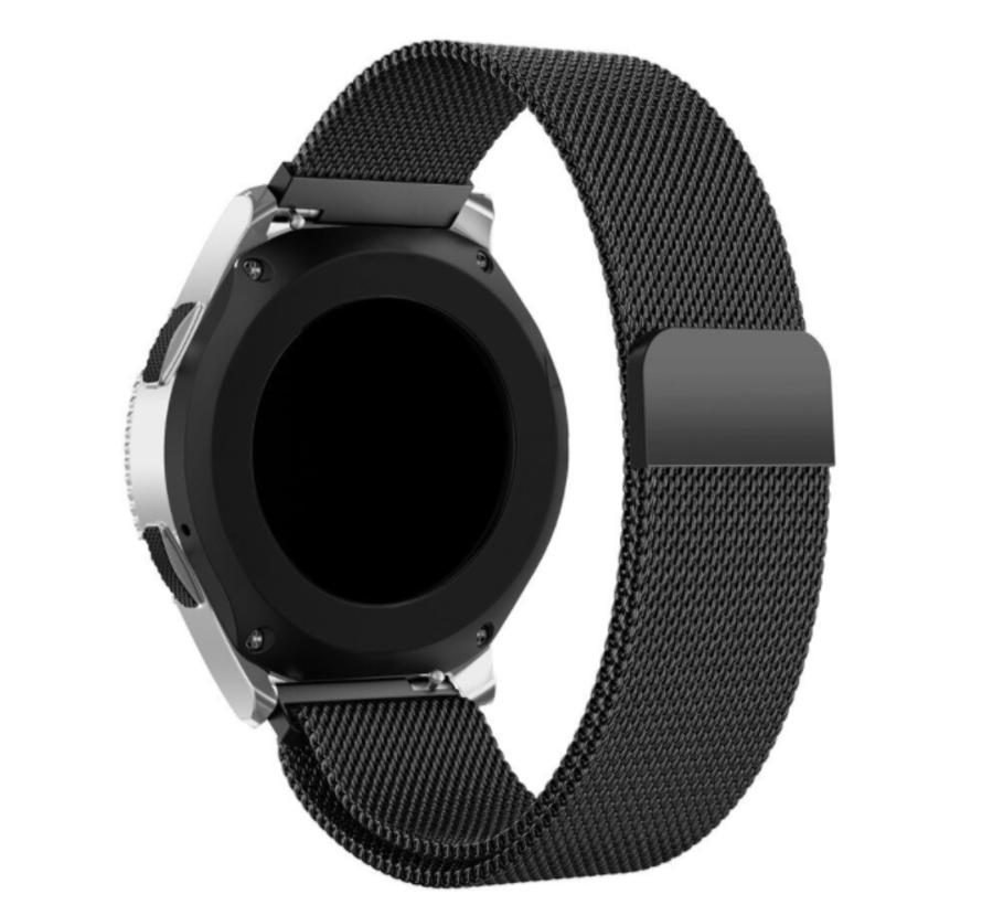 Strap-it® Polar Ignite Milanese band (zwart)