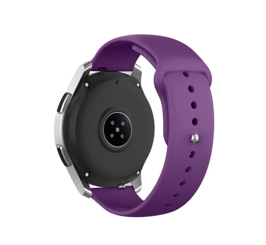 Strap-it® Garmin Vivomove HR sport band (paars)