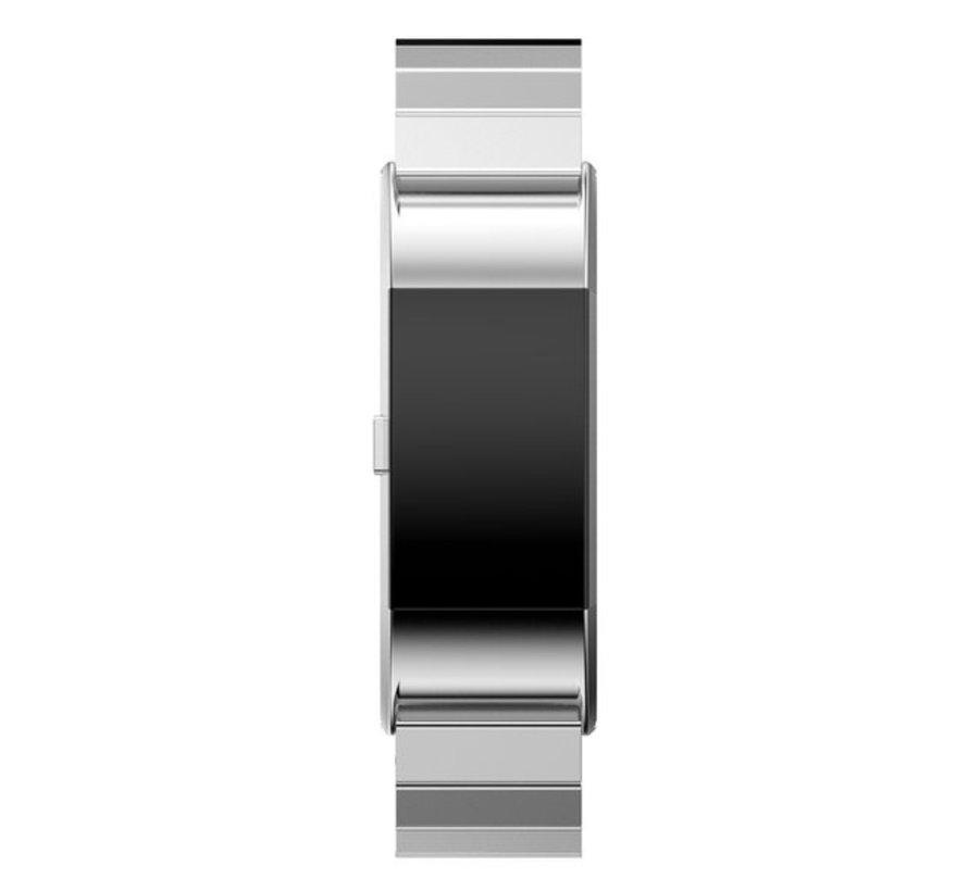 Strap-it® Fitbit Charge 2 metalen bandje (zilver)