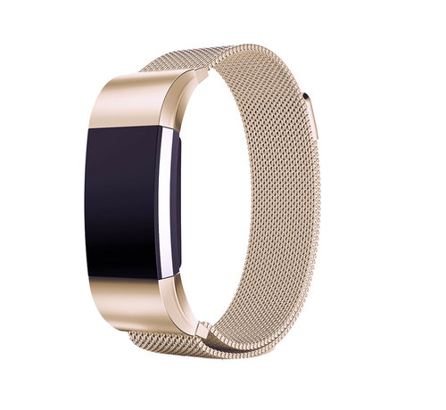 Strap-it® Strap-it® Fitbit Charge 2 Milanese band (champagne)