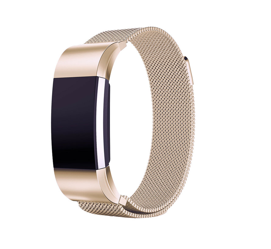 Strap-it® Fitbit Charge 2 Milanese band (champagne)