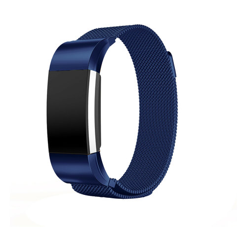Strap-it® Strap-it® Fitbit Charge 2 Milanese band (blauw)