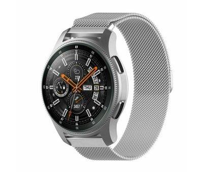 Strap-it® Strap-it® Samsung Galaxy Watch Milanese band 45mm / 46mm (zilver)