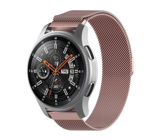 Strap-it® Strap-it® Samsung Galaxy Watch Milanese band 45mm / 46mm (roze)