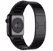 Strap-it® Apple Watch luxe metalen band (zwart)