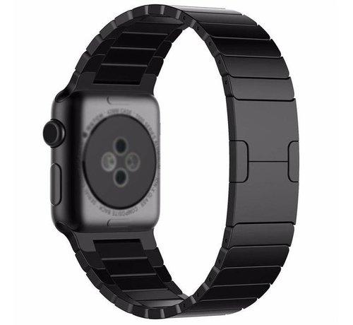 Strap-it® Strap-it® Apple Watch luxe metalen band (zwart)