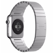 Strap-it® Apple Watch luxe metalen band (zilver)