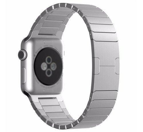 Strap-it® Strap-it® Apple Watch luxe metalen band (zilver)