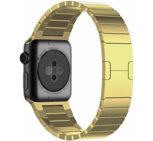 Strap-it® Strap-it® Apple Watch luxe metalen band (goud)