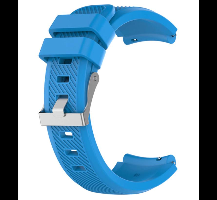 Strap-it® Xiaomi Amazfit Pace silicone band (lichtblauw)