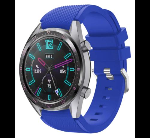 Strap-it® Strap-it® Huawei Watch GT siliconen bandje (blauw)