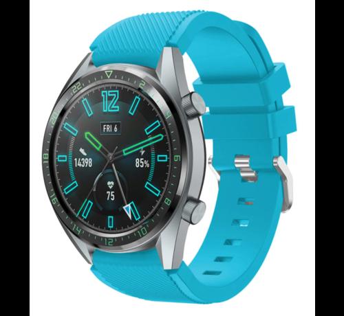 Strap-it® Strap-it® Huawei Watch GT siliconen bandje (lichtblauw)