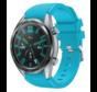 Strap-it® Huawei Watch GT siliconen bandje (lichtblauw)