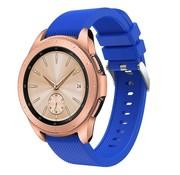 Strap-it® Samsung Galaxy Watch siliconen bandje 41mm / 42mm (blauw)