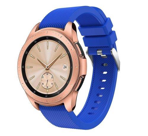 Strap-it® Strap-it® Samsung Galaxy Watch siliconen bandje 41mm / 42mm (blauw)