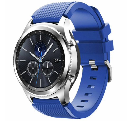 Strap-it® Strap-it® Samsung Gear S3 silicone band (blauw)