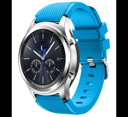 Strap-it® Strap-it® Samsung Gear S3 silicone band (lichtblauw)