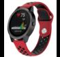 Strap-it® Garmin Vivoactive 3 sport band (rood zwart)
