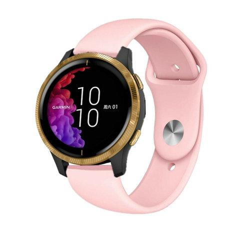 Strap-it® Strap-it® Garmin Venu sport band (roze)