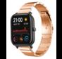 Strap-it® Xiaomi Amazfit GTS metalen bandje (rosé goud)