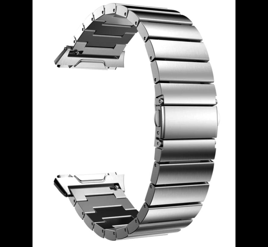 Strap-it® Fitbit Ionic metalen bandje (zilver)