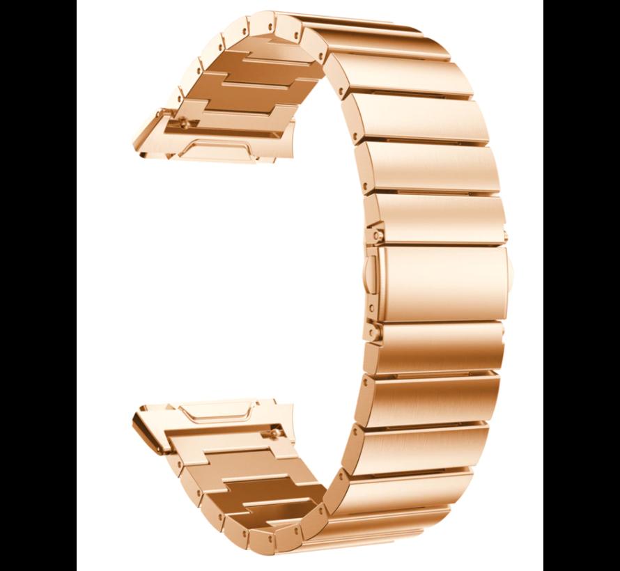 Strap-it® Fitbit Ionic metalen bandje (rosé goud)