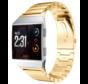 Strap-it® Fitbit Ionic metalen bandje (goud)